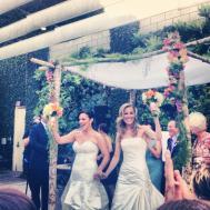 The ceremony...