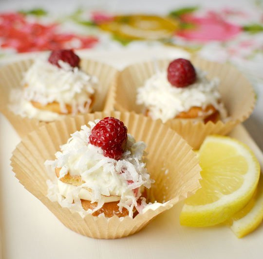 No bake lemon fridge cupcakes