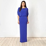One of my favourite's is this cobalt split dress by Julien MacDonald at only £65. You almost don't need to add anything else at all!