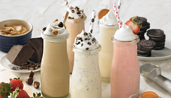 Milkshakes for weddings